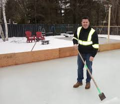 diy backyard ice rink hockey dad keith travers