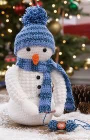 crochet snowman free crochet pattern in yarns uk terms