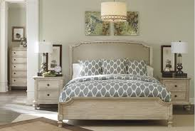 California King White Bedroom Sets Demarlos California King Panel Bed Living Spaces