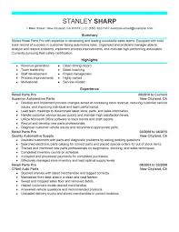 Best Retail Resume by 100 Example Of Retail Resume Retail Sales Associate Resume