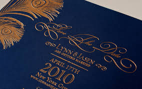 Foil Wedding Invitations Foil Wedding Invitations Gold Navy Wedding Colors