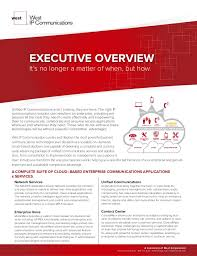 west ip communications executive overview