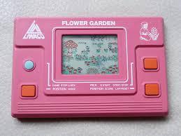 handheld empire game liwaco flower garden jardin merveilleux