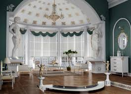 green walls living room with victorian style victorian style
