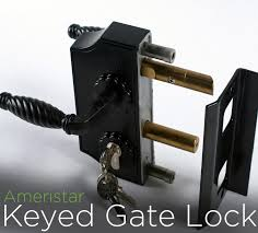 deadbolt lock fence workshop