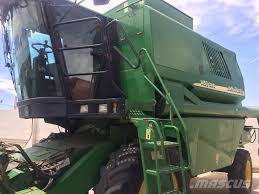 used john deere 1450 cws combine harvesters year 2005 for sale