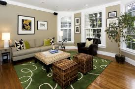 Cube Ottoman In Family Room Contemporary With Bedroom Color - Pretty family rooms