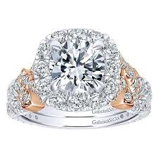 gold halo engagement rings 18k white gold halo engagement ring with criss cross