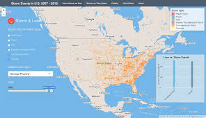 Chicago On Map Storm Events In U S Interactive Shiny App Nyc Data Science