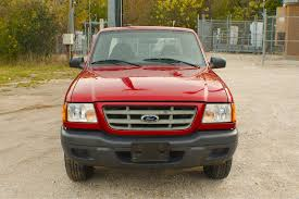 truck ford ranger 2003 ford ranger xlt red manual used truck sale