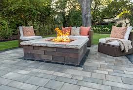 patio furniture kitchener matching your pit to your patio pavers in kitchener on unilock