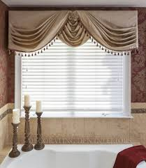side swags with center swag u0026 choux valances pinterest swag