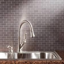 decorative tile inserts kitchen backsplash metal tile for less overstock