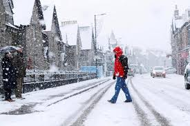 Snow Scotland Scotland To Be Colder Than Iceland As Temperatures Plunge To 10c