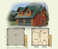cabin garage plans garage cottage log home and cabin floor plan 6 lovely design ideas