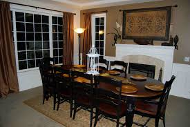 big dining room distressed black dining room table