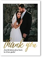 wedding thank you wedding thank you cards wedding thank you notes shutterfly