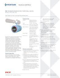 fct trunnion mounted split body ball valves models hpa hra db