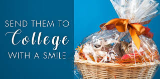 gift baskets to send gift baskets for every college student boyds flowers