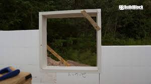 buildblock options and best practices for icf door u0026 window openings
