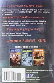 amazon com the maze runner book 1 8601419988143
