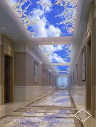 Celing Window Virtual Window Led Panel For Backlit Ceilings For Sky Ceilings