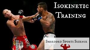 rafael dos anjos u0027 strength training secret isokinetic training