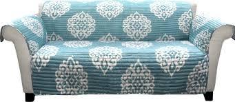 Teal Couch Slipcover Three Posts Stroudsburg Box Cushion Sofa Slipcover U0026 Reviews Wayfair
