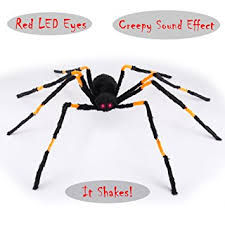 Motion Activated Outdoor Halloween Decorations by Amazon Com Animated Realistic Halloween Motion Activated Hairy