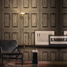 vintage wooden wall retro pvc vinyl vintage wooden wall decorative wallpaper for
