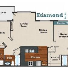 3 bed 2 bath apartment in beaverton or baseline woods apts