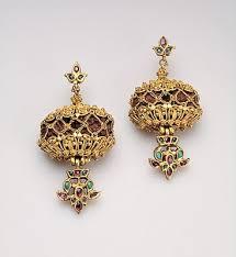 earrings models indian jewellery design gold stones beautiful earrings models