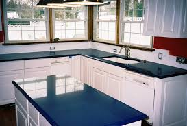 paint ideas for kitchen with blue countertops blue quartz countertops a bold kitchen design idea