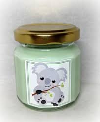 favor favor baby climbing koala cub baby shower favor candle baby shower favor