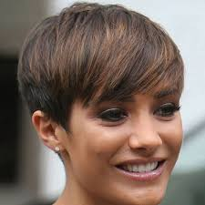 best highlights for pixie dark brown hair 21 gorgeous short pixie cuts with bangs pretty designs