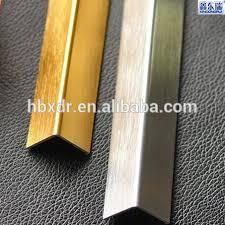 l shaped tile trim aluminium floor for wall and ceramic