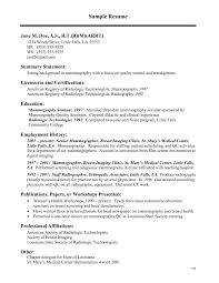 cover letter examples for radiologic technologist images cover