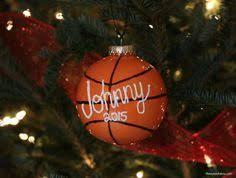 diy basketball ornament for coach