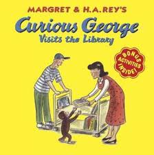 curious george visits library margret rey