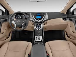 2013 hyundai elantra cockpit interior photo automotive com