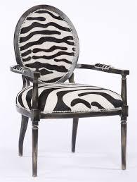 Black And White Striped Chair by Zebra Stripe High End Arm Chair 524