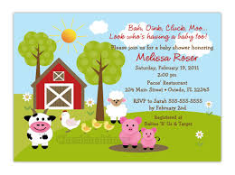 free printable barnyard farm invitation template like this item