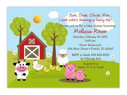 make baby shower invitations online free print free printable barnyard farm invitation template like this item