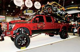 pics of lifted ford trucks the lifted trucks of sema 2014