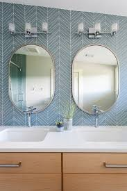 Mirror Ideas For Bathrooms The 25 Best Oval Bathroom Mirror Ideas On Pinterest Half Bath