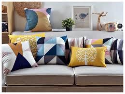 gros coussins de canapé coussin de canape mobilier table housse de coussin canap 60x60