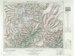 China Peak Map by Namcha Barwa
