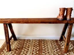 Rustic Wooden Bench Reclaimed Wood Bench From Tj Maxx A Few Of My Favorite Things