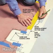 Installing Vinyl Sheet Flooring How To Install Vinyl Sheet Flooring 28 Images How To Install A