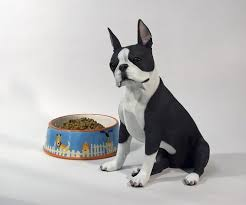 boston cremation terrier lifesize figurine pet cremation urn